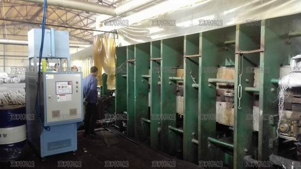 平板硫化导热油加热器