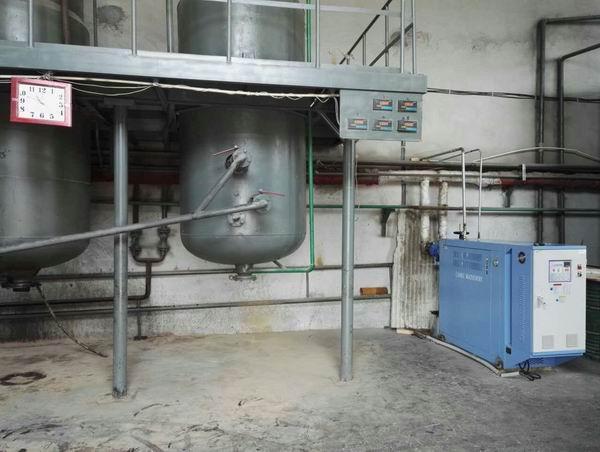 电加热油炉反应釜使用现场