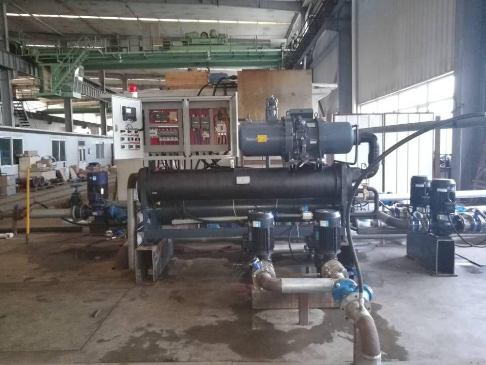 工业螺杆冷冻机